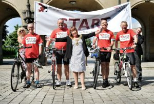 Bolton News Charity cycle re Mark S